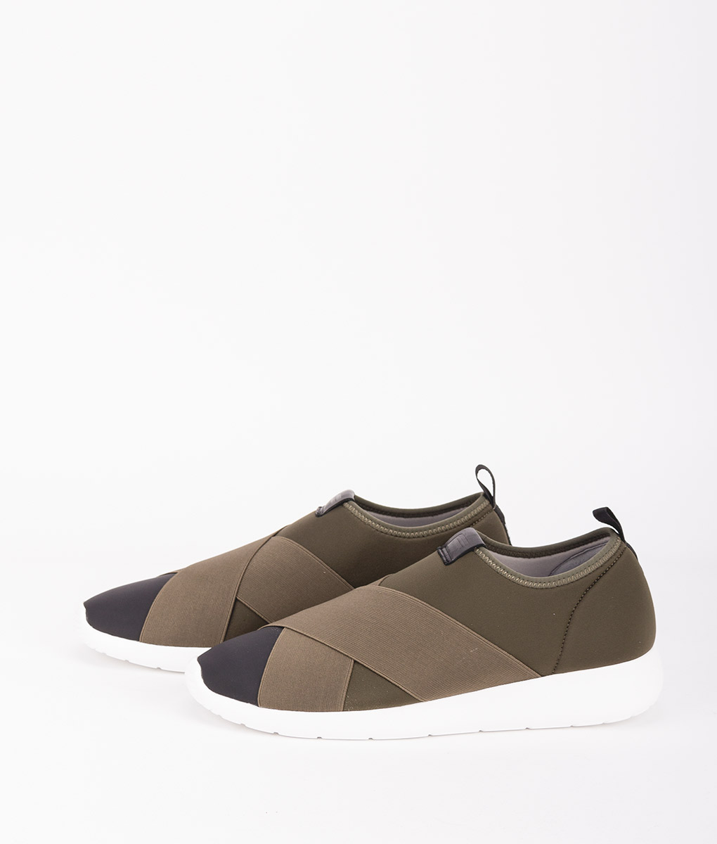 FESSURA Men Sneakers AIR017AIRSOCK X, Black Khaki 149.99