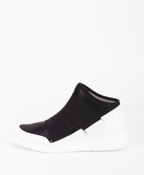 FESSURA Women Sneakers AIR001 AIRSOCK BAND, White Black 149.99 2