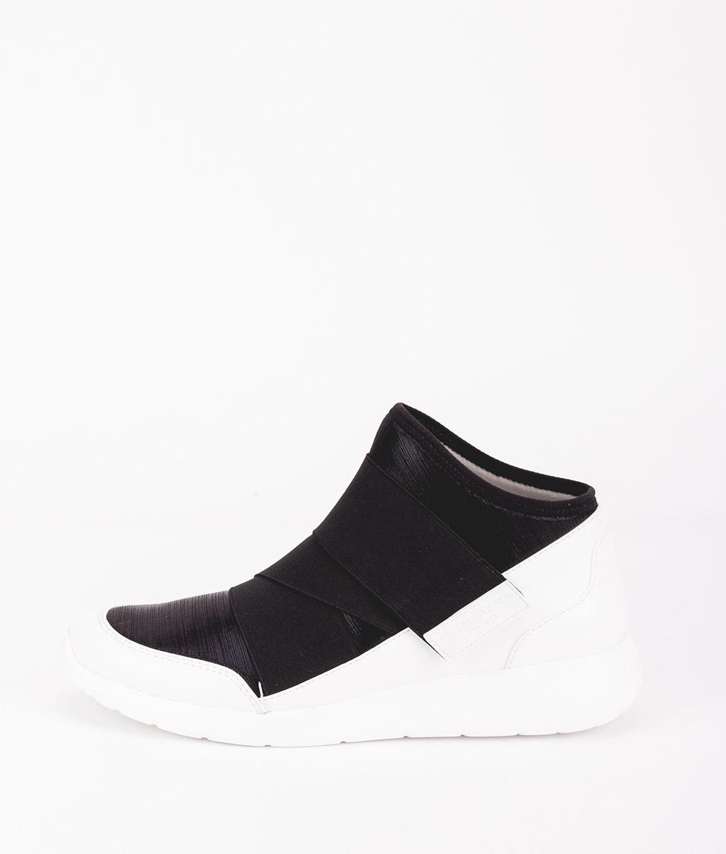 FESSURA Women Sneakers AIR001 AIRSOCK BAND, White Black 149.99 2