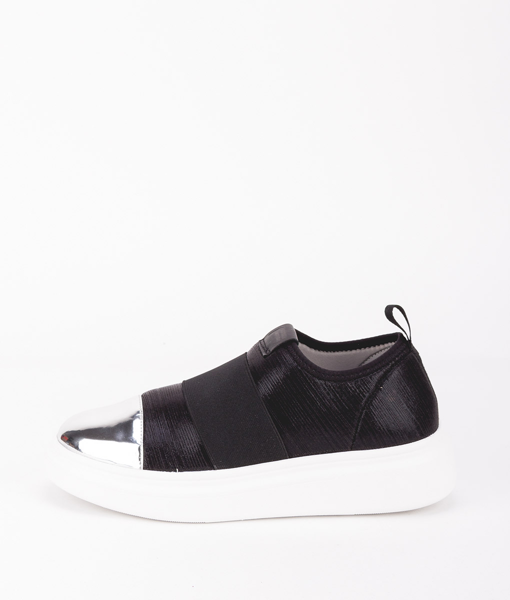 FESSURA Women Sneakers EDG008 EDGE ONE, Mirror Black 149.99