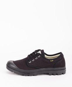 PALLADIUM Men Sneakers 75331 PAMPA OX ORIGINALE, Black 69.99