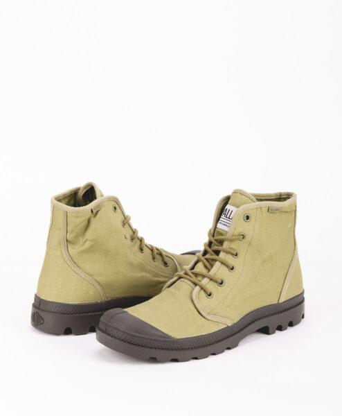 PALLADIUM Men Sneakers 75554 PAMPA HI ORIGINALE TC, Olive Beluga 84.99