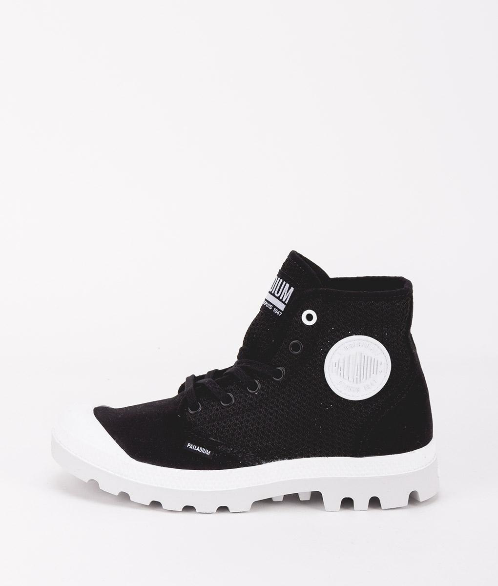 PALLADIUM Unisex Sneakers 75751 PAMPA HI MESH, Black 79.99
