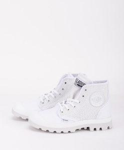 PALLADIUM Women Sneakers 75751 PAMPA HI MESH, White 79.99