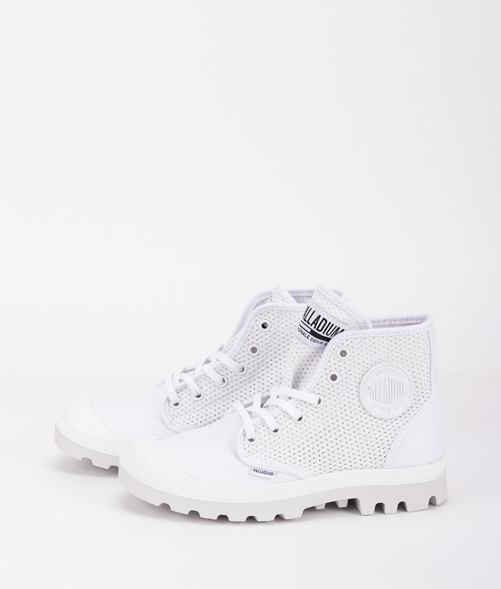 1549a84265 PALLADIUM Women Sneakers 75751 PAMPA HI MESH, White | T6/8