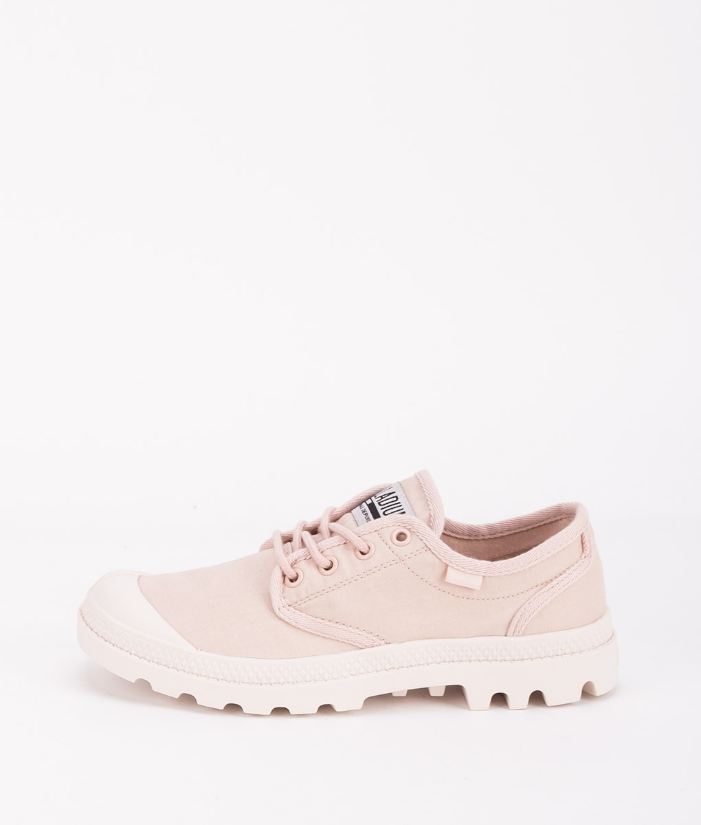 PALLADIUM Women Sneakers 75758 PAMPA OX ORIGINALE, Rose Dust Whisper Pink 74.99
