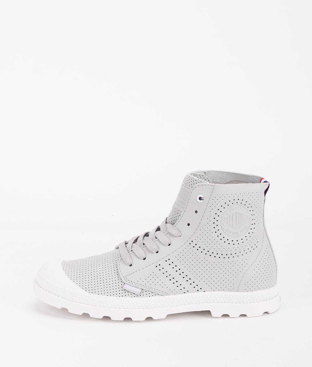 PALLADIUM Women Sneakers 95756 PAMPA MID LP, Vapor 99.99