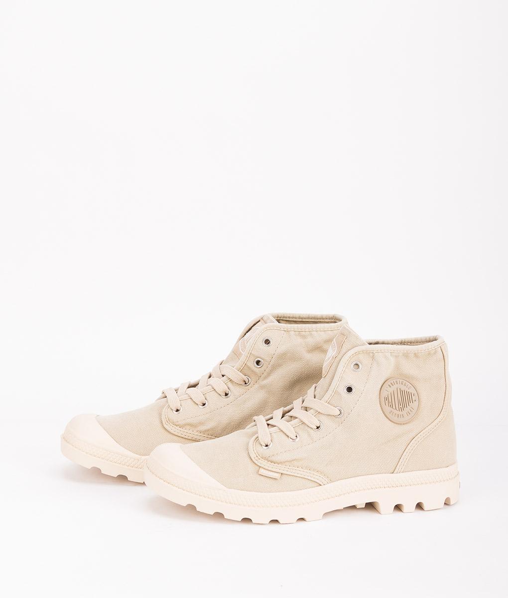 PALLADIUM Men Sneakers 2352 PAMPA HI, Sahara Ecru 74.99