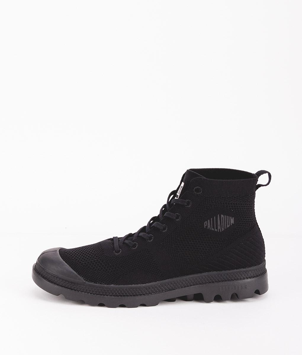 PALLADIUM Men Sneakers 75749 PAMPA HI LITE K, Black 109.99 2