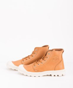 PALLADIUM Men Sneakers 75750 PAMPA HI LEATHER UL, Apricot Birch 119.99