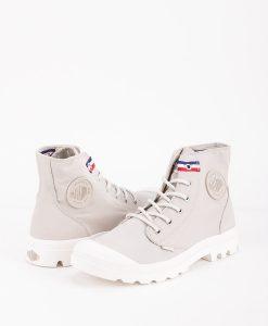 PALLADIUM Men Sneakers 75753 PAMPA HI RIVE, Rainy Day French Tape 79.99