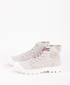 PALLADIUM Men Sneakers 75753 PAMPA HI RIVE, Rainy Day French Tape 79.99