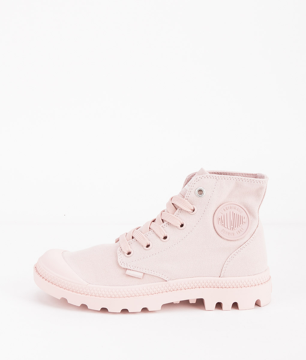 PALLADIUM Women Sneakers 73089 MONO CHROME, Peach Whip 74.99
