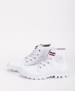 PALLADIUM Unisex Sneakers 75753 PAMPA HI RIVE, White French Tape 79.99