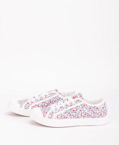 PALLADIUM Women Sneakers 75726 PALLAPHOENIX CVS PRT, Marshmallow 74.99 2