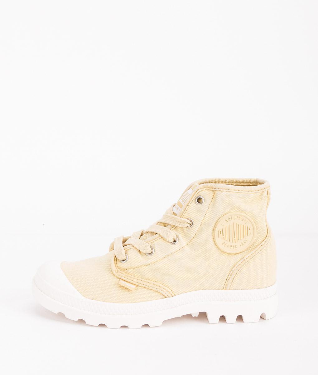 PALLADIUM Women Sneakers 92352 PAMPA HI, Pampas Ecru 74.99