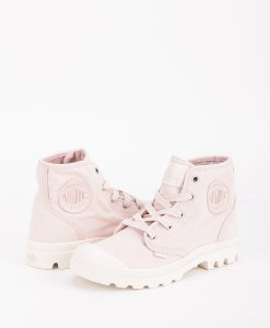 PALLADIUM Women Sneakers 92352 PAMPA HI, Peach Whip Marshmallow 74.99