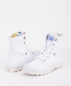 PALLADIUM Women Sneakers 93314 BAGGY LOW LP, White Star White 74.99