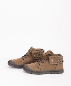 PALLADIUM Women Sneakers 95693 BAGGY LOW LP, Khaki 74.99