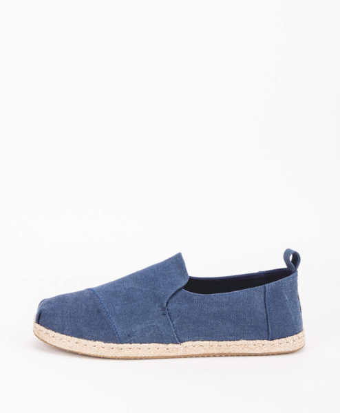 TOMS Men Espadrilles 11623 Washed M DECONSTRUCTED, Navy 65.99