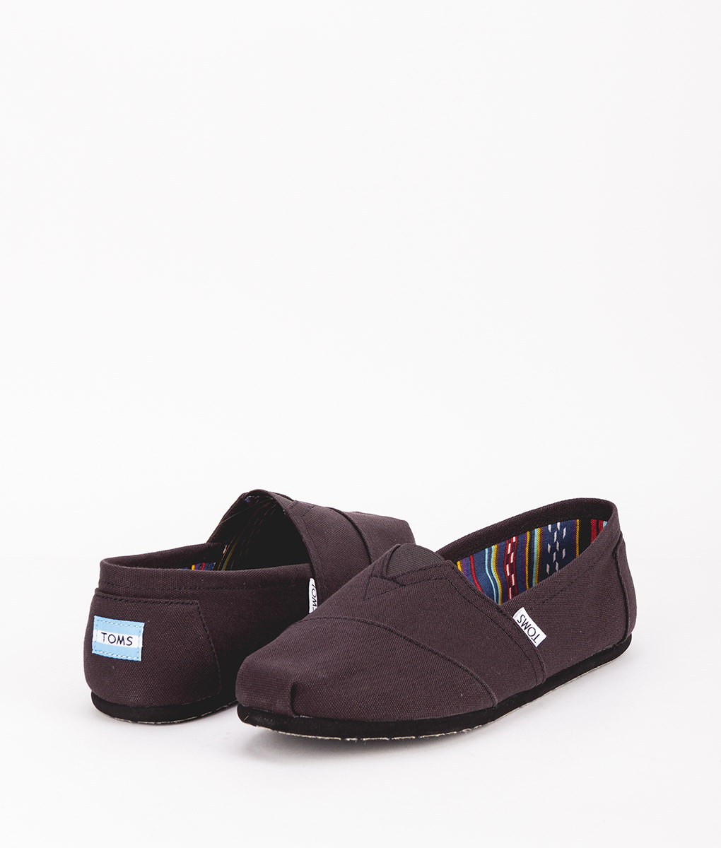 TOMS Men Espadrilles 2931 CANVAS M CLASSIC, Black Black 49.99 1