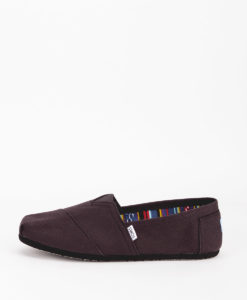 TOMS Men Espadrilles 2931 CANVAS M CLASSIC, Black Black 49.99