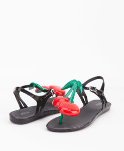 MELISSA Woman Sandals 32301 SOLAR IV, Black Green 66.99 1