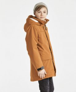 DIDRIKSONS Boys Parka Bjorling, Leather Brown 149.99 4