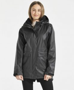 DIDRIKSONS Girls Rain coat Thayer Galon, Black 109.99 4