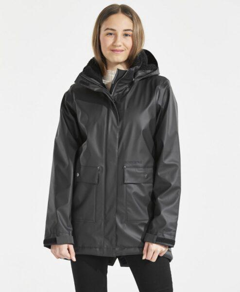 DIDRIKSONS Girls Rain coat Thayer Galon, Black 109.99 4