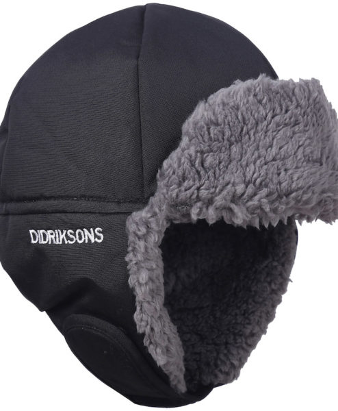 DIDRIKSONS Kids Cap Biggles, Black 24.99