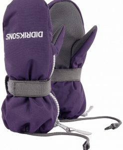 DIDRIKSONS Kids Zip Mittens Biggles, Berry Purple 29.99