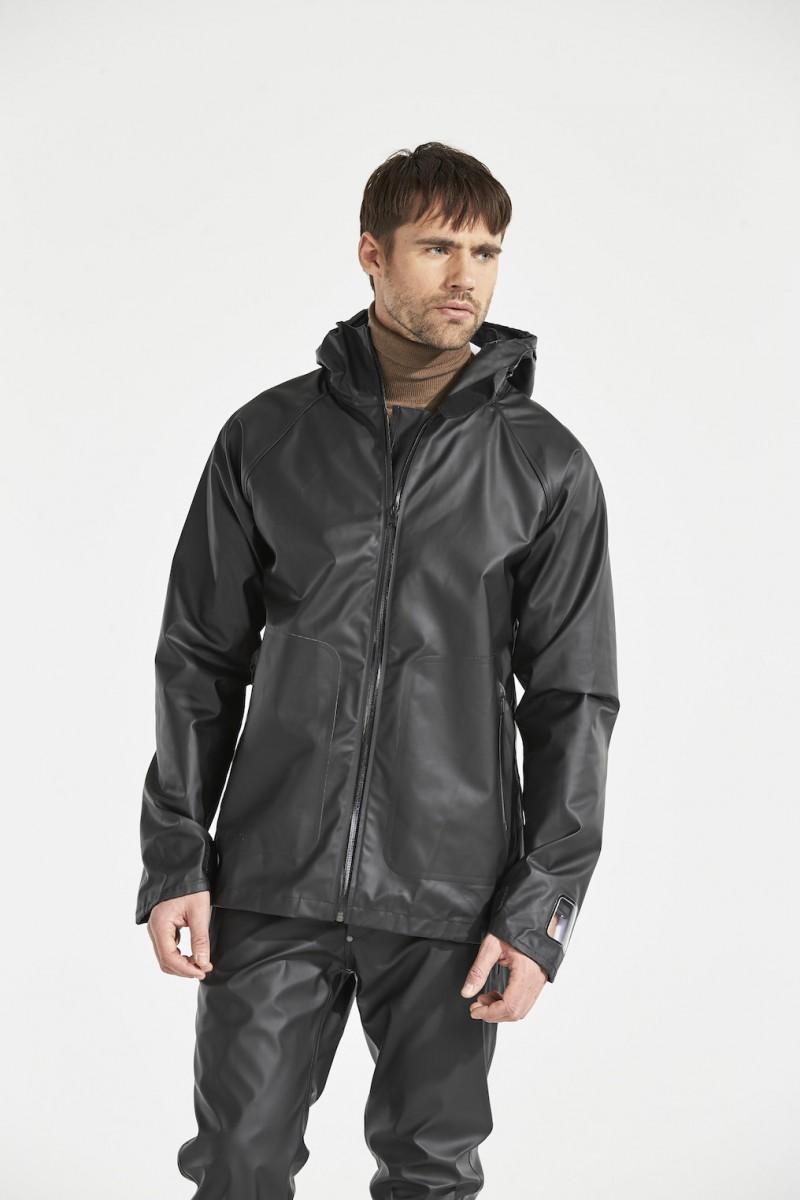 DIDRIKSONS Mens Rain Jacket Ulrik, Black 279.99 4