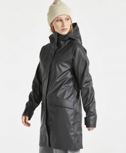 DIDRIKSONS Womans Rain Coat Ulla, Black 179.99 4