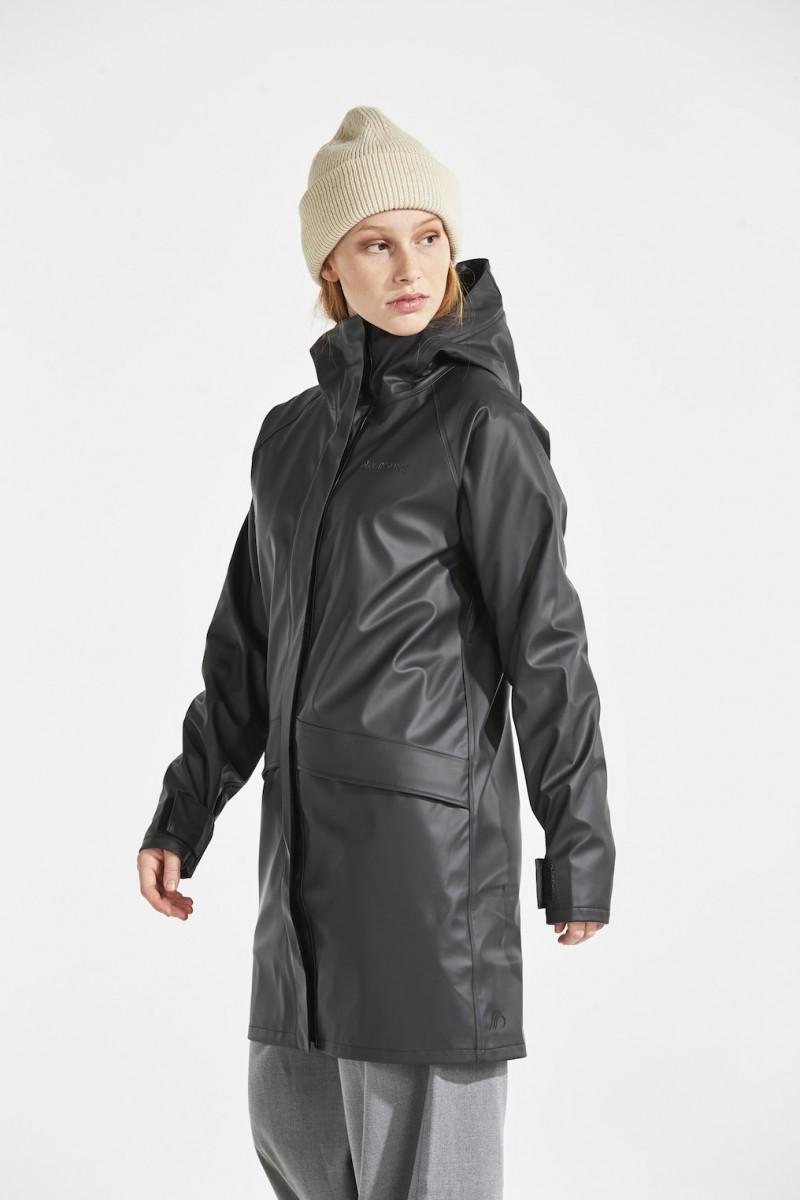 DIDRIKSONS Womans Rain Coat Ulla, Black 179.99 4