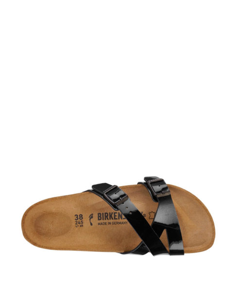 BIRKENSTOCK Women Flip Flops 1013271 YAO BALANCE BF, Patent Black 79.99 2