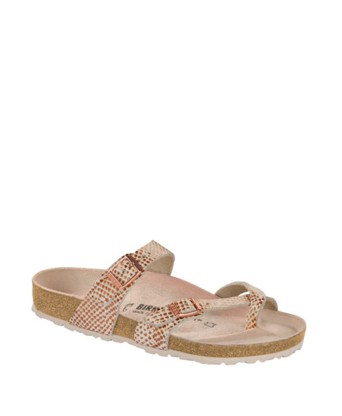 BIRKENSTOCK Women Flip Flops 1012867 MAYARI NL, Mermaid Cream 89.99 2