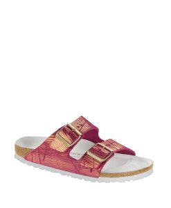 BIRKENSTOCK Women Flip Flops 1012946 ARIZONA NU, Metallic Cuts Magenta 109.99