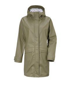 DIDRIKSONS Women Rain Coat ELLY 502876, Dusty Olive, 119.99