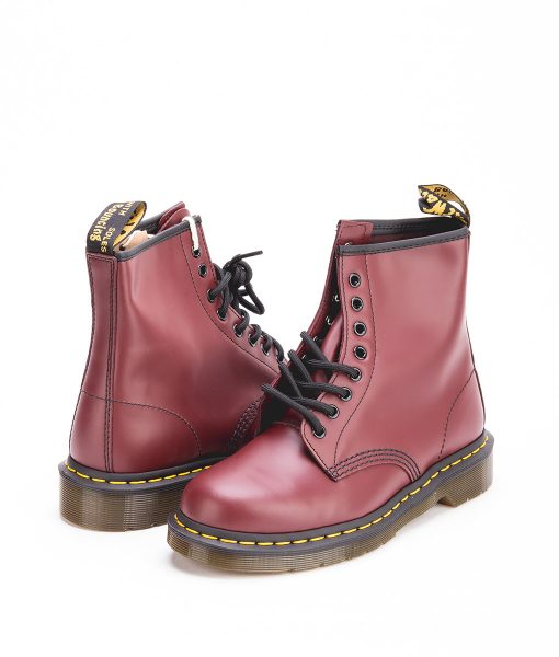 DR MARTENS Unisex Ankle Boots 1460 10072600, Red 189.99 1