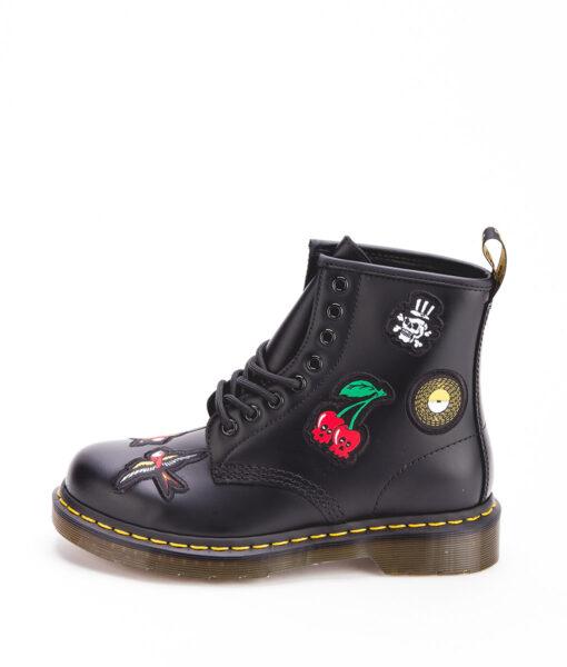 DR MARTENS Unisex Ankle Boots 1460 PATCH 24436001, Black 189.99