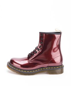DR MARTENS Women Ankle Boots 1460 23922601 VEGAN CHROME, Red 189.99