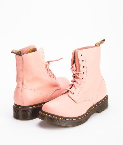 DR MARTENS Women Ankle Boots 1460 24482672 PASCAL, Salamon Pink 1
