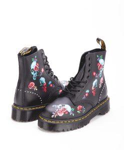 DR MARTENS Women Ankle Boots 1460 PASCAL BEX ROSE 24424001, Black 204.99 1