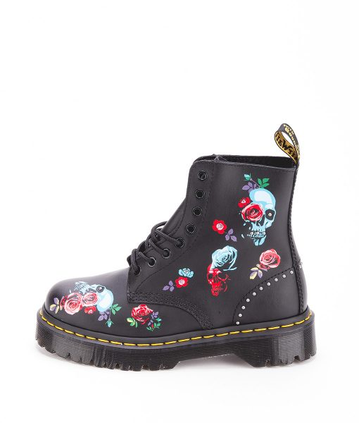 DR MARTENS Women Ankle Boots 1460 PASCAL BEX ROSE 24424001, Black 204.99