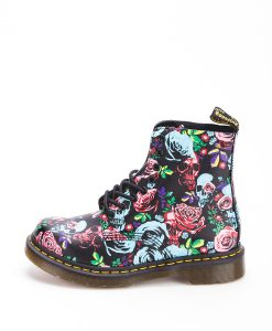 DR MARTENS Women Ankle Boots 1460 PASCAL ROSE 24427102, Multi Rose 204.99