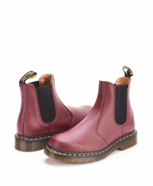 DR MARTENS Women Chelsea Boots 2976 22227600, Cherry Red 189.99 1