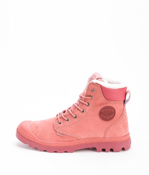 PALLADIUM Unisex Sneakers 72992 PAMPA SPORT CUFF WPS LEATHER, Brick Dust Cowhide 159.99
