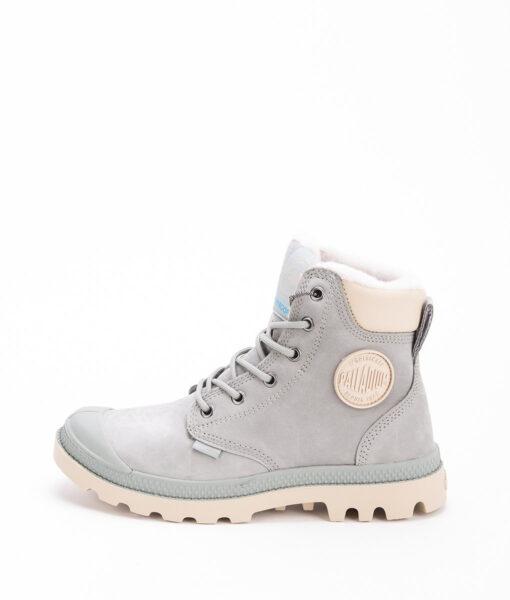 PALLADIUM Unisex Sneakers 72992 PAMPA SPORT CUFF WPS LEATHER, Shadow Safari 159.99