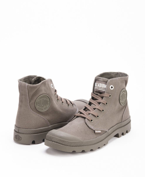 PALLADIUM Unisex Sneakers 73089 MONO CHROME, Olive Night 69.99 1
